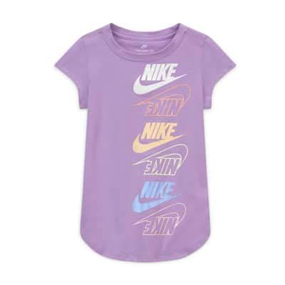NIKE Camiseta Lila para NIÑA (6 AÑOS)