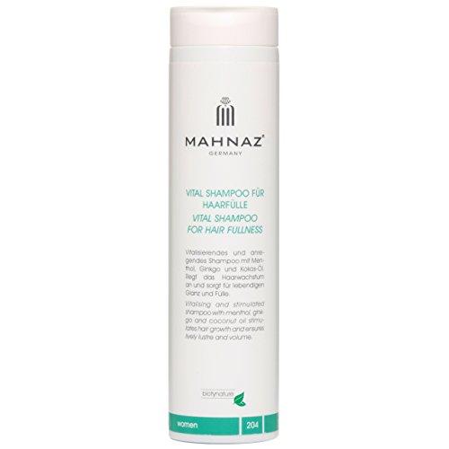 mahnaz Vital Shampoing pour cheveux Plénitude, renforce le croissance des cheveux, 200 ml