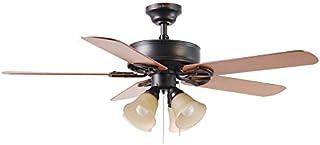 b8b723e933b Harbor Breeze Springfield II 52-in Antique Bronze Downrod or Flush Mount Ceiling  Fan with