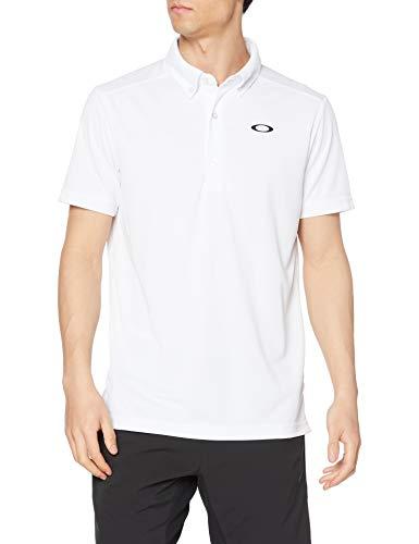 [オークリー] ポロシャツ ENHANCE SS POLO JACQUARD 11.0 メンズ WHITE US L (日本サイズXL相当)