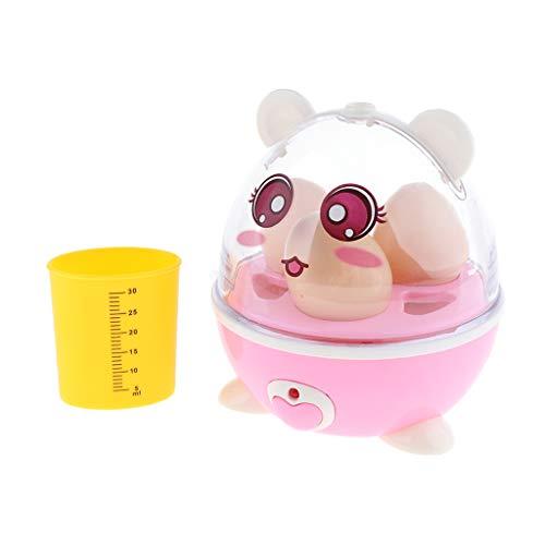 SM SunniMix Kinder Spielküche Haushaltsspielzeug Elektrischer Eierkocher aus Kunststoff