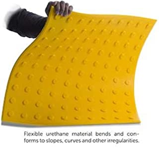 Truncated Domes - 2' x 5' - Flexible Urethane ADA Truncated Domes Pads - Yellow