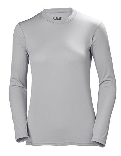 Helly Hansen Hh Tech Crew damska koszulka sportowa z długim rękawem szary jasnoszary M