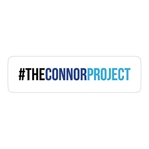 Vinyl Sticker for Cars, Trucks, Water Bottle, Fridge, LaptopsDear Evan Hansen The Connor Project Hashtag Stickers (3 Pcs/Pack)