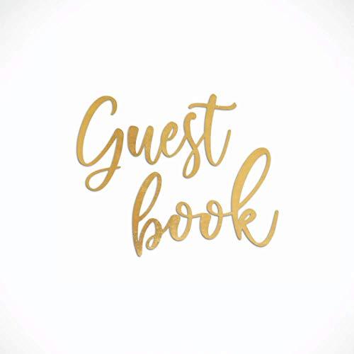 Guest Book Matrimonio e Altri Eventi: Album Fotografico Pagine Bianche per Dediche Invitati, Photo Booth e Polaroid - 21 Cm X 21 Cm 110 Pagine - Copertina Flessibile