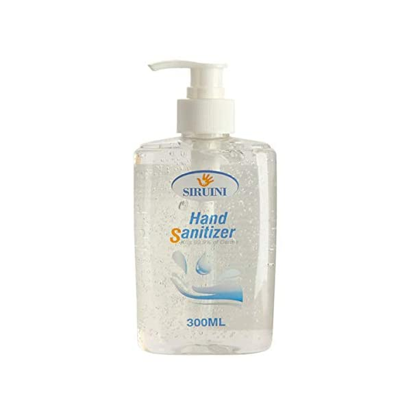 Corona Virus protection products Hand Sanitizer Hand Soap Refreshing Gel Pump Bottle, Fresh Breeze 10 Fl Oz (one Size)