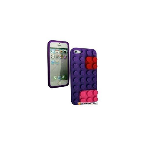 BUMPER - Housse LEGO IPhone 5 - Purple : Mobiles , ML