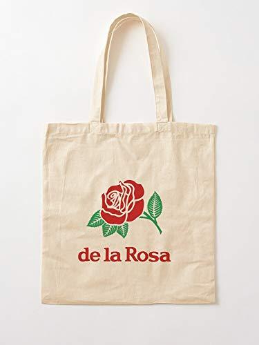 Générique Rosa Marzipan La Vintage Hispanic Latinx   Einkaufstaschen aus Leinen mit Griffen, Einkaufstaschen aus nachhaltiger Baumwolle