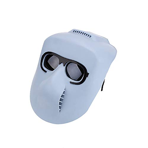 LSSLSS Grimassenmaske, Schutzmaske SchweißKappe, SchweißBrille, Verbrennungsschutzmaske, SchweißMaske