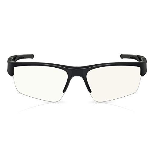 SPIRIT OF GAMER - Gaming PRO RETINA-glasögon - Högt skydd för skärmar - PC/konsol/TV - Anti-trötthet - Blåljusfilter - Anti-reflektionsbehandling - UV-skydd - Inklusive fodral