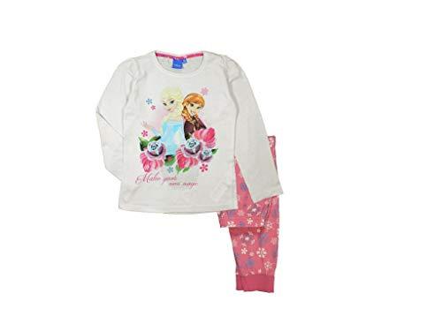 Frozen - Die Eiskönigin Anna und ELSA Schlafanzug (122, pink)