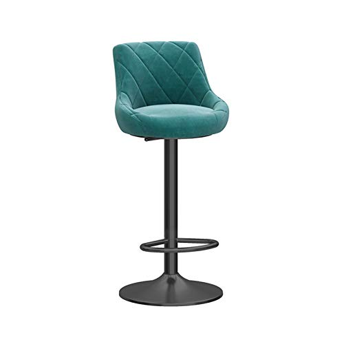 Chairs & Stools Taburetes de Muebles de Entretenimiento-CJiaJ Recepción Cajero Taburetes, cómodo Tall recepción Pies Presidente Restaurante Bar taburetes for Islas de Cocina Café Bar Las Taburetes