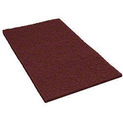 Americo, 42071420, Cleaning Supplies, Floor Pads, 14X20 Home Run Ecoprep Maroon Pads(10), CS
