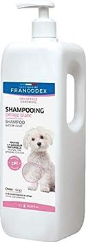 Francodex Shampooing Pelage Blanc pour Chien 1 L