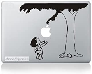 Boy and Tree - Decal Sticker for MacBook, Air, Pro All Models