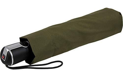 Knirps Regenschirm Taschenschirm Large Duomatic - Olive