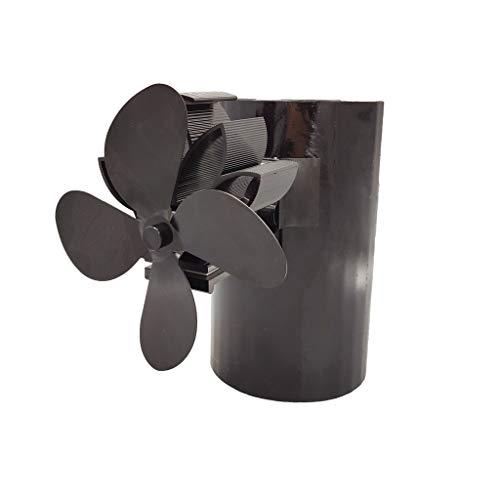 4 aspas de chimenea para colgar, ventilador de chimenea de