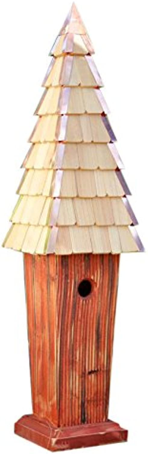 Heartwood 232A Skyscape Bird House in Redwood Finish