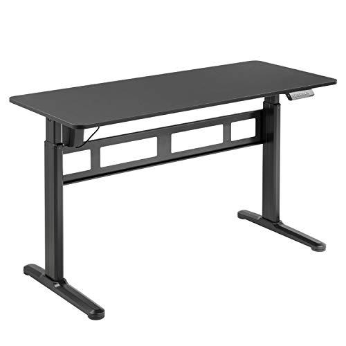 HOKO® Ergo-Work-Table KOMPAKT Comfort. Elektrisch höhenverstellbar Schreibtisch KOMPLETT...