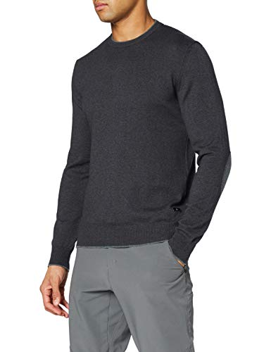 CMP Pullover Knitted in Lana, Maglioni Tricot Uomo, Carbone M, 50