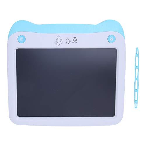 Tablero de escritura digital LCD 8.5in, tablero de dibujo, digital para niños y adultos(LCD liquid crystal smart writing board (blue))