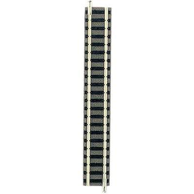 9101 N Fleischmann Piccolo (mit Bettung) Gerades Gleis 111 mm