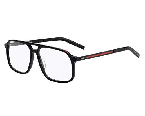 BOSS Gafas de Vista Hugo - Hugo HG 1092 BLACK RED 57/14/145 hombre