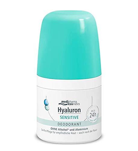 Hyaluron Sensitive Deodorant von Medipharma Sanfte Pflege für empfindliche Haut 50ml