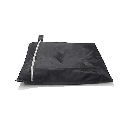 YKWYQ Waterproof Bbq Cover Black Waterproof Grill Cover Round Heavy Grill Cover Dustproof Rain Gas Charcoal Electric Grill (Size : 70x70)