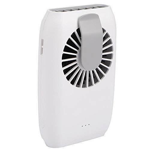 Exquisito ventilador deportivo, elegante ventilador de tres velocidades pequeño portátil para conducción deportiva