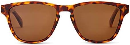 Enclave Eyewear Metal Frame Retro Polarized Sunglasses for Men and Women