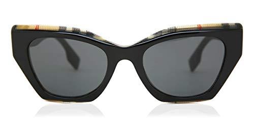 BURBERRY Occhiali da Sole BE 4299 BLACK/GREY 52/20/140 donna