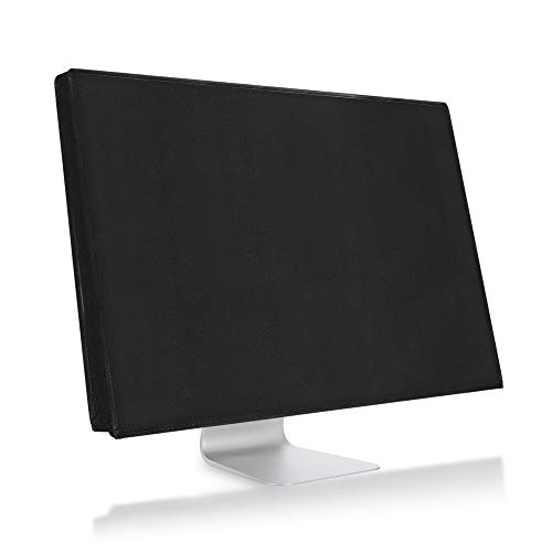 kwmobile Monitor Cover Compatible with Apple iMac 27' / iMac Pro 27' - Anti-Dust PC Monitor Screen Display Protector - Black