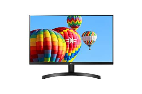 """LG 27MK600M Monitor, 27"""", LED IPS Full HD (1920x1080), 5 ms, Radeon FreeSync 75Hz, VGA, HDMI, Borderless"""