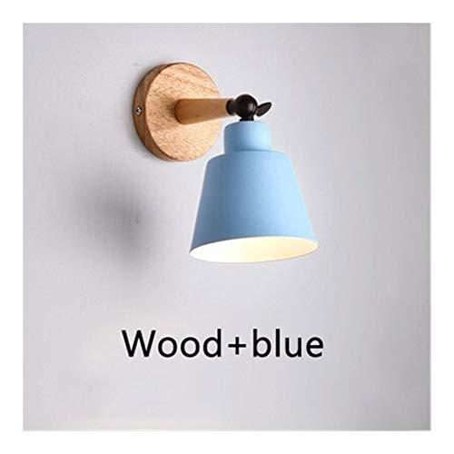 RTRY Luminaria de la Pared rústica de Nórdica Moderna Simple de la Pared del Dormitorio de la lámpara de Pared Interior se Enciende luz de la decoración for el hogar E27 110V / 220V