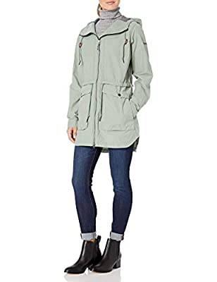 Columbia Women's Plus Size West Bluff Jacket, Light Lichen, 1X