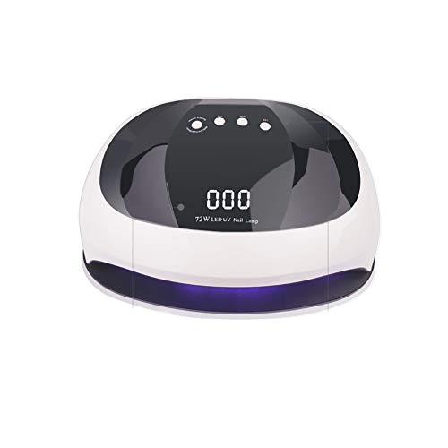 XER USB-uv-led-nagellamp, nagellak-droger-licht curing lamp met led-korrels, sensor en 3 timer (30s, 60s, 90s) voor nagellak