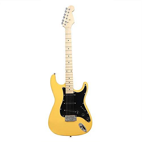 NUYI-4 Guitarra eléctrica Genuina ST Serie Guitarra eléctr