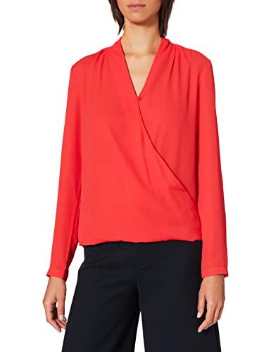 Seidensticker Damska modna bluzka, Czerwony (Lipstick Red 45), 36 PL
