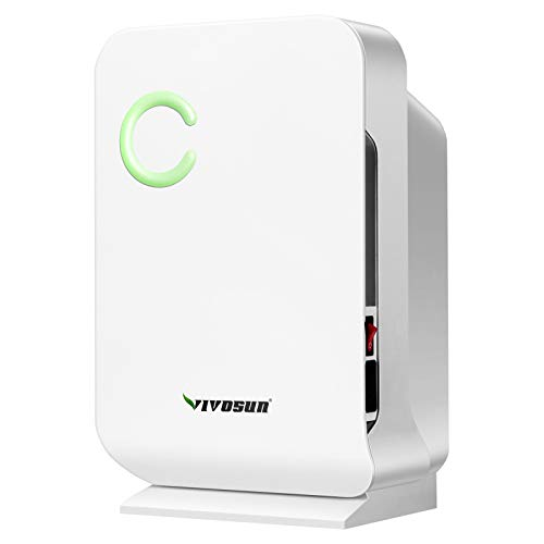 VIVOSUN Small Space Mini Dehumidifier for Grow tent Closets Bathroom and Basement