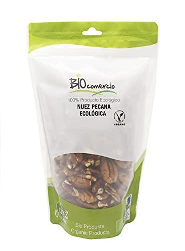BIOCOMERCIO | Nueces pecanas ecológicas | nuez pecana orgánica | 500 gramos | Nueces enteras | Frutos secos | Producto ecológico y orgánico | BIO