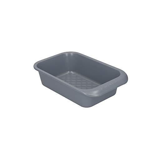 MasterClass Smart Ceramic Molde para Pan de Acero al Carbono con Revestimiento Antiadherente Apilable 2lb, 23 x 15 cm