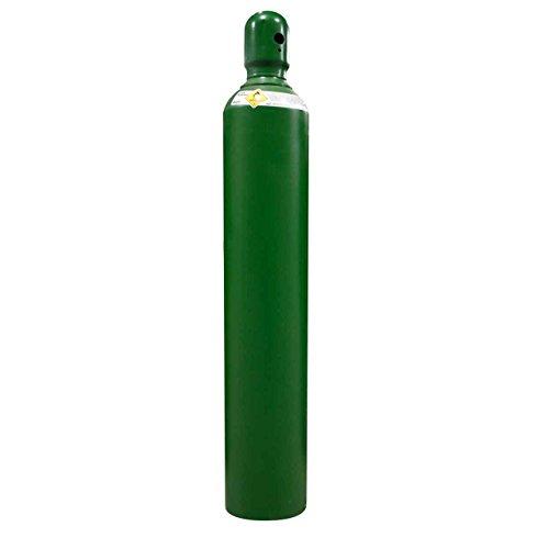 125 cu/ft Oxygen Welding Gas Cylinder Tank CGA 540 - FULL