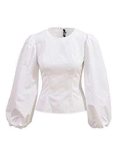 Luxury Fashion | Calvin Klein Dames 81WWTB19C038100 Wit Katoen Blouses | Lente-zomer 20