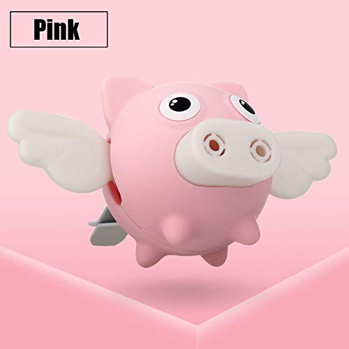 Aoile Auto Cartoon Flying Pig Geur Auto Parfum Air Outlet luchtverfrisser Parfum Aroma Clip Pink 6930