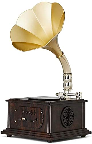 Bluetooth Speaker Antique Gramophone