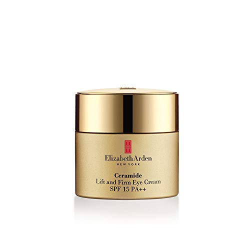 Elizabeth Arden Ceramide Plump Perfect Ultra Lift & Firm Eye Creme SPF 15, 1er Pack (1 x 15 ml)