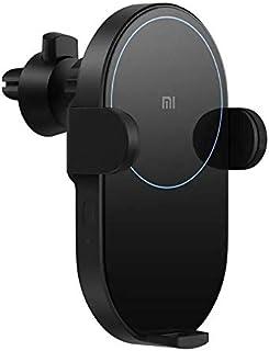 Carregador e Suporte Veicular Xiaomi Turbo/Carregamento Rápido, por indução e Automático, c/sensor de aproximação - Potênc...