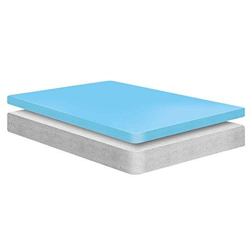 Modway Aveline 6 Gel Infused Memory Foam Twin Mattress With CertiPUR-US Certified Foam - 10-Year Warranty - Available In Multiple Sizes