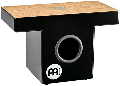 Meinl TOPCAJ1MB - Slap-Top Cajon con pannello anteriore in legno di Makah-Burl